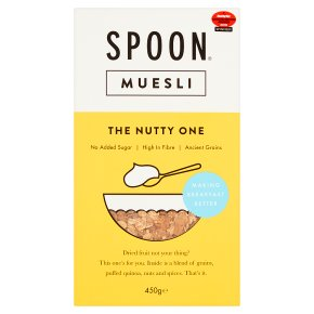 Spoon Muesli The Nutty One No Added Sugar