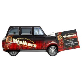 Walkers Shortbread Taxi Tin