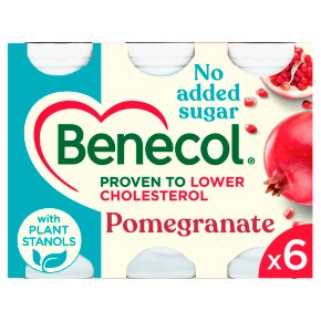 Benecol No Added Sugar Pomegranate