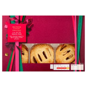 Waitrose Christmas All Butter Mince Pies