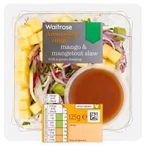 Waitrose Mango & Mangetout Slaw