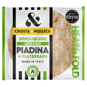 Crosta & Mollica Wholeblend Piadina Italian Flatbreads