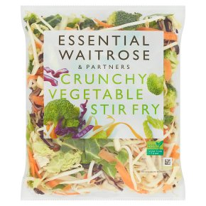 essential Waitrose crunchy vegetable stir fry