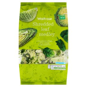 Waitrose Shredded Leaf Medley