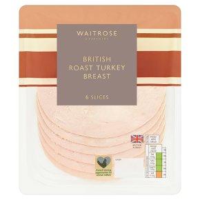 Waitrose Roast Turkey Breast 6 slices