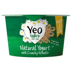 Yeo Valley Natural Yogurt with Crunchy Granola