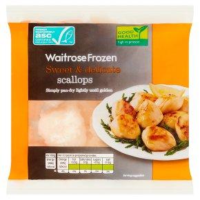Waitrose Frozen Scallops
