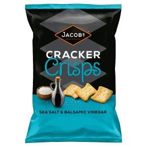 Jacobs Sea Salt & Balsamic Vinegar Cracker Crisps