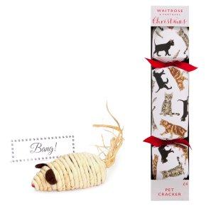Waitrose Christmas Cracker For Your Cat