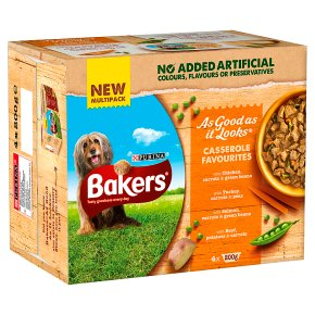 Bakers As Good As It Looks Dog Food Casserole