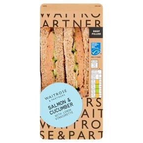 GOOD TO GO Salmon & Cucumber Sandwich