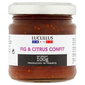 Fig and Citrus Confit