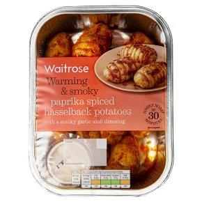 Waitrose Paprika Hasselback Potatoes