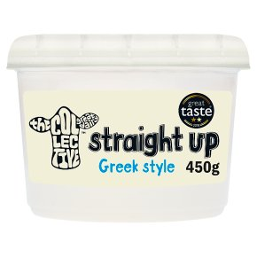 The Collective Straight Up Plain Live Yoghurt