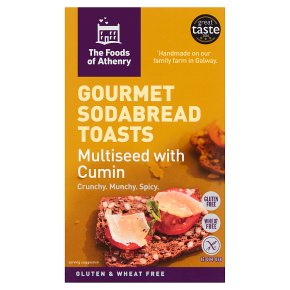 Foods of Athenry Multiseed Cumin Sodabread Toasts