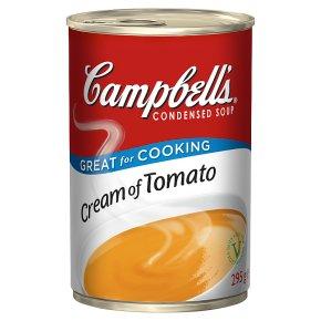 Campbell's condensed cream of tomato soup