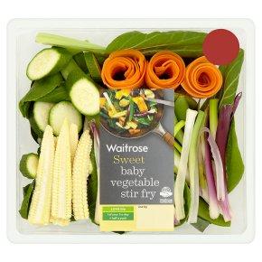 Waitrose Baby Vegetable Stir Fry