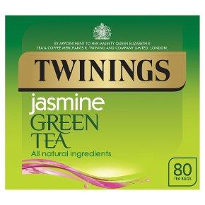 Twinings green tea & jasmine 80 teabags