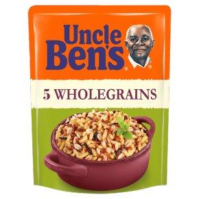 Uncle Ben's Rice & Grains 5 Whole Grains