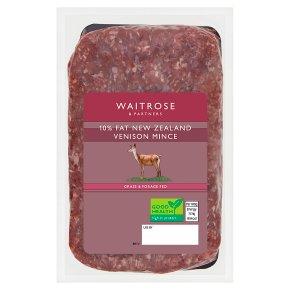 Waitrose 1 New Zealand Venison Mince