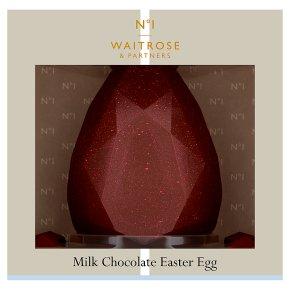 Waitrose 1 Milk Chocolate Easter Egg