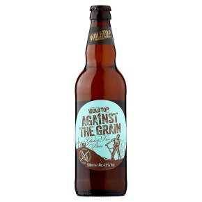Wold Top against the grain real ale