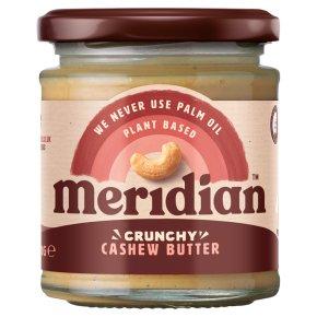 Meridian crunchy cashew butter