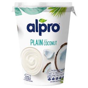 Alpro plain with coconut