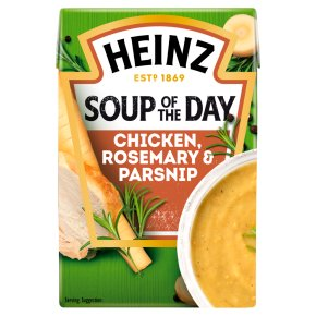 Heinz Chicken, Parsnip & Rosemary Soup