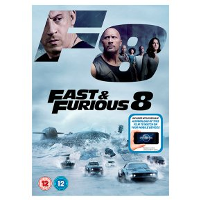 DVD Fast And Furious 8