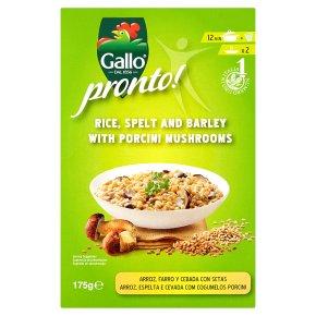 Gallo Pronto Rice, Spelt & Barley Porcini Mushroom