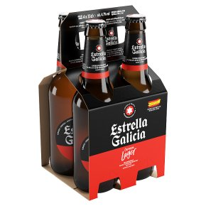 Estrella Galicia Premium Lager Spain