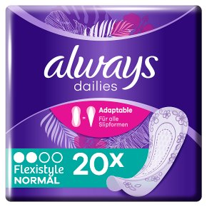 Always Dailies Flexi Panty Liners