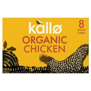 Kallo 8 chicken stock cubes