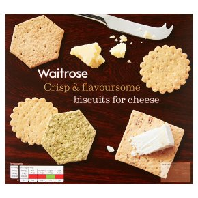Waitrose biscuits for cheese