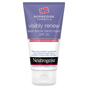 Neutrogena visibly renew hand cream
