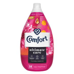 Comfort Intense Fuschia Passion Fabric Conditioner, 64 wash