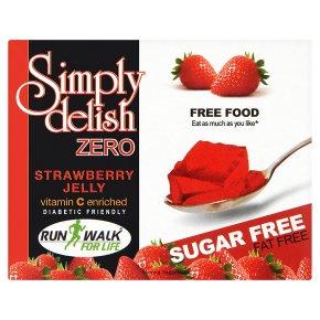 Simply delish zero strawberry jelly