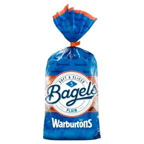 Warburtons Bagels Plain 5s