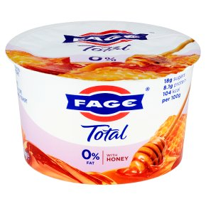 Total 0% fat free Greek yoghurt with honey