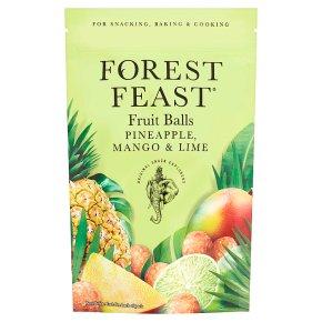Forest Feast Fruit Balls Pineapple & Mango