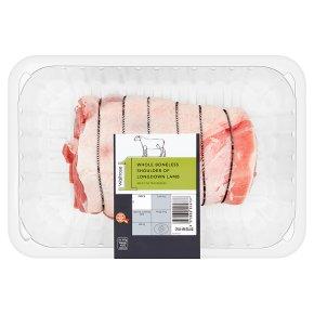 Waitrose 1 Whole Boneless Shoulder Of Lamb