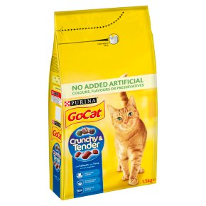 Go-Cat Crunchy and Tender Dry Cat Food Salmon