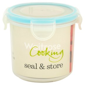 Waitrose Seal & Store 0.32 litre round container