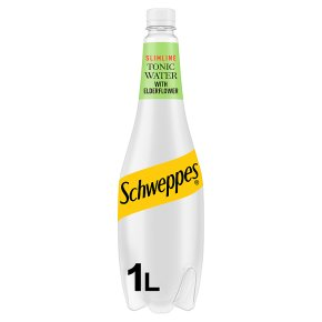 Schweppes Low Calorie Elderflower Tonic Water