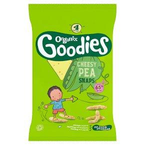 Organix Goodies Cheesy Pea Snaps
