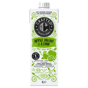 Crafted by Cracker Apple, Mint & Lime Juice