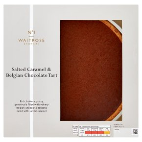 Waitrose 1 Salted Caramel & Chocolate Tart