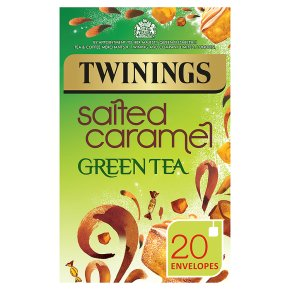 Twinings salted caramel green tea 20 envelopes