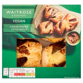 Waitrose Vegan Lincolnshire Style Rolls